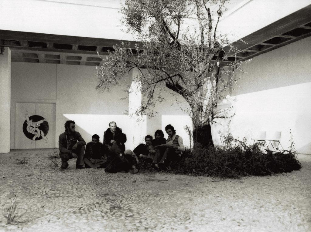 Jeunes au centre culturel, 1972