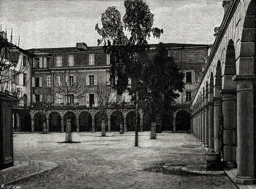 Cour des apprentis du Patronage Saint-Pierre (vers 1900)