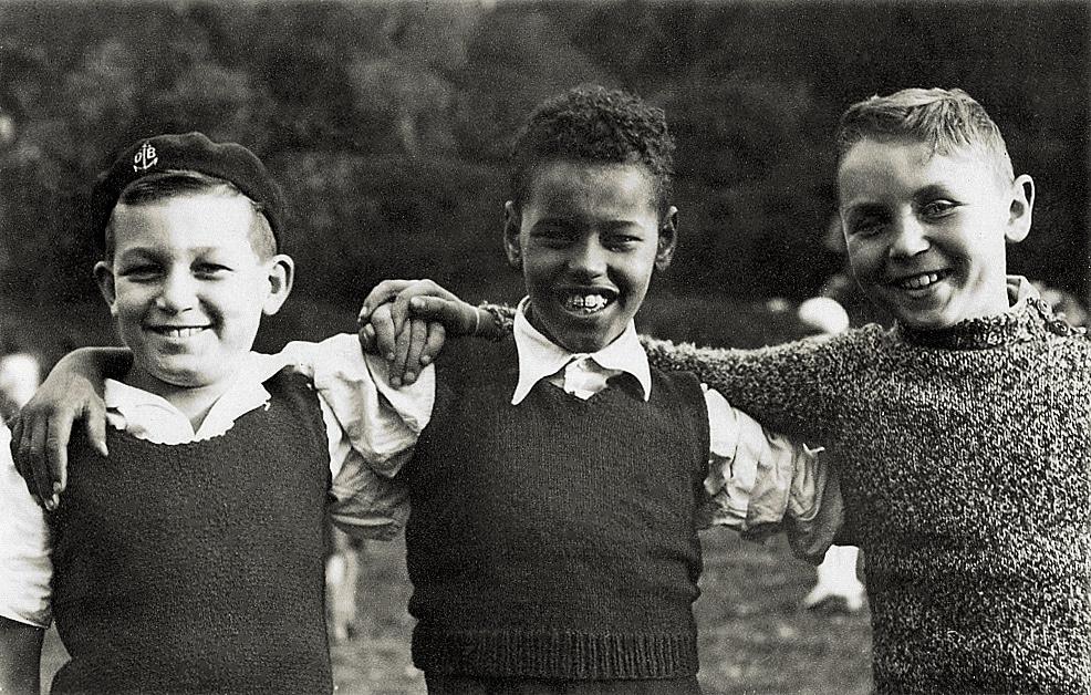 Scouts à Caussols – Eté 1937