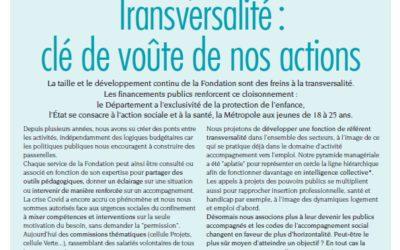 Le nouveau n° du journal de la Fondation de Nice est disponible